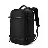 Дорожный рюкзак OZUKO 8983 с отделением для ноутбука 20 дюймов черный