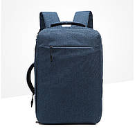 Городской рюкзак-сумка OZUKO 8904 с отделением для ноутбука 15,6 дюймов синий