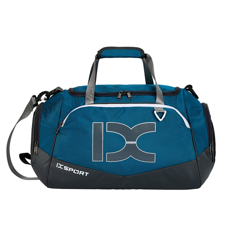 Сумка IX 17106 з кишенею для мокрих речей і взуття синя