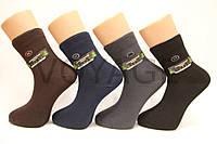 Мужские носки средние стрейчевые,кеттельный шов,200 Мontebello 41-44 темные ассорти, фото 1