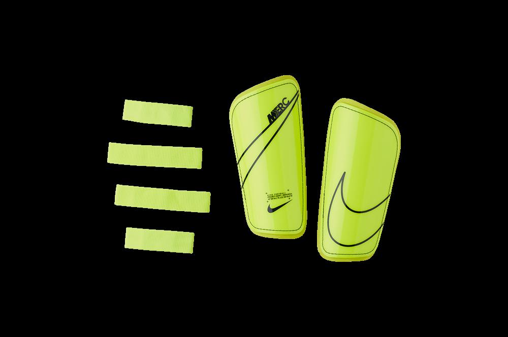 Щитки футбольні Nike Mercurial Hard Shell SP2128-703 Желтий Розмір M (193145983809)
