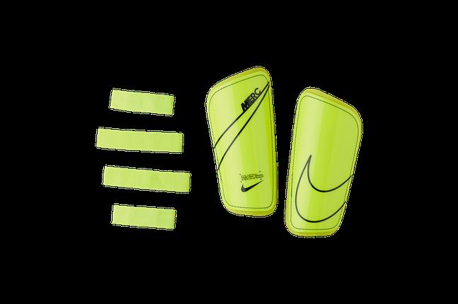 Щитки футбольні Nike Mercurial Hard Shell SP2128-703 Желтий Розмір M (193145983809), фото 2