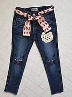 Джинсовые брюки для девочек Размеры 4-10 .Фирма S&D.Венгрия, фото 1