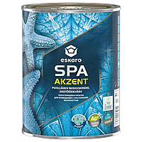 Полуглянцевая краска Eskaro Akzent Spa 0,9л для ванных комнат