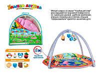 Коврик детский развивающий  в кульке(7) код 41092