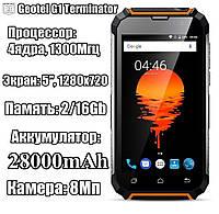 Geotel G1 pro Terminator 2/16GB 28000 mAh Противоударный высококачественный смартфон