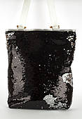 Стильная пляжная сумка-рюкзак art. 11-6 пайетки