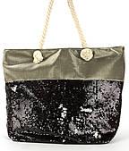 Прочная вместительная женская пляжная сумка art. 13-2