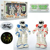 Два робота воспроизводят 9 песенок - игровой набор с роботами станет отличным подарком для мальчика