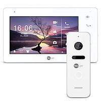 NeoKIT HD+ White комплект видеодомофона, фото 1