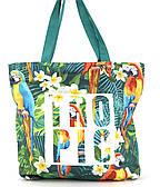 Прочная вместительная женская пляжная сумка art. 030