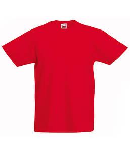 Детская футболка Valueweight Красный 098 см