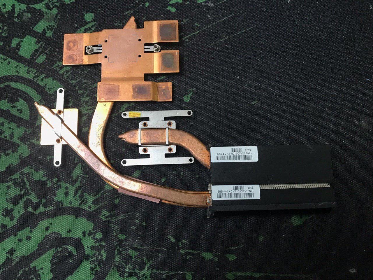 Система охлаждения для ноутбука  Asus Rog G71G