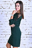 Нарядное женское платье,ткань креп-дайвинг+кружево,размеры :44,46,48., фото 8