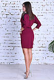 Нарядное женское платье,ткань креп-дайвинг+кружево,размеры :44,46,48., фото 9