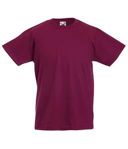 Дитяча футболка Valueweight Бордовий 128 см