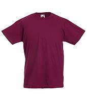 Детская футболка Valueweight Бордовый 152 см