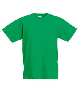 Дитяча футболка Valueweight Яскраво-Зелений 128 см