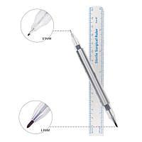 Маркер хирургический стерильный двухсторонний для разметки, Tondaus TM, толщина пера 0,5 и 1 мм