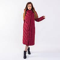 Женское пальто Indigo  N 023TL PLUM