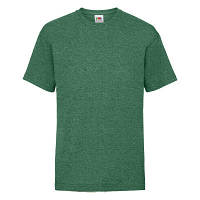 Детская футболка Valueweight 164 см Зеленый меланж