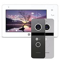 NeoLight ZETA+ HD и SOLO FHD (NeoKIT HD+ Graphite/Silver комплект видеодомофона)