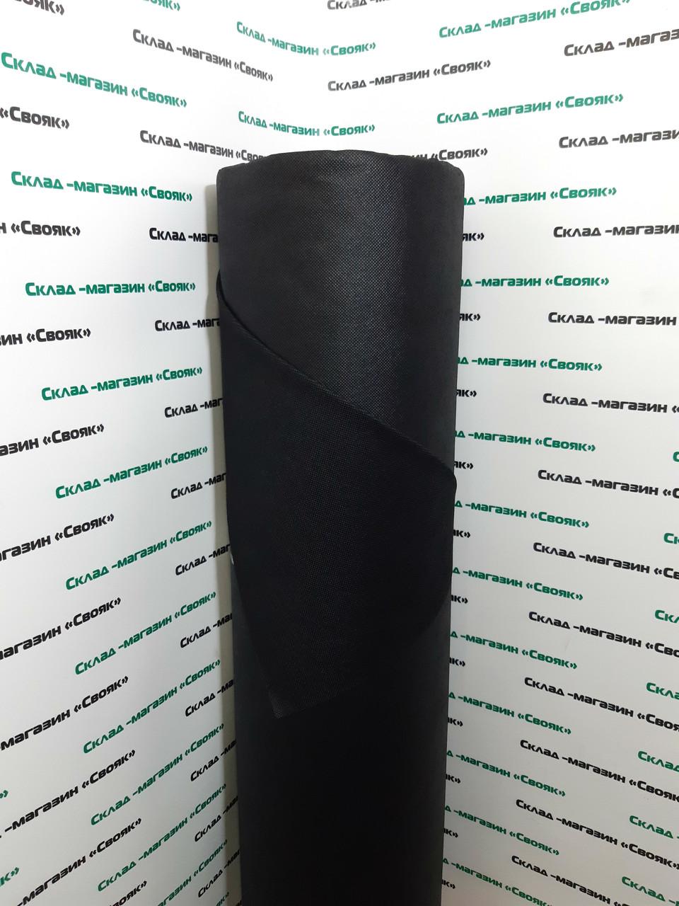 """Агроволокно черное 60g/m2  1.07х100м TM """"Shadow"""" (Чехия)."""