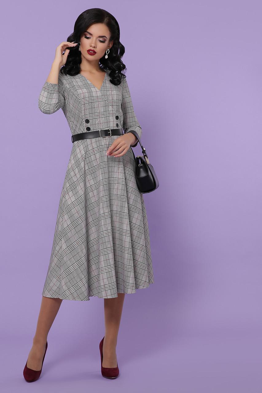 Сукня в діловому стилі з костюмки