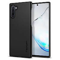 Чехол Spigen для Samsung Galaxy Note 10 Thin Fit, Black (628CS27368)