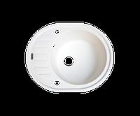 Кухонная мойка (гранит) (разные цвета, сифон в комплекте) BORGIO OVM-620x500