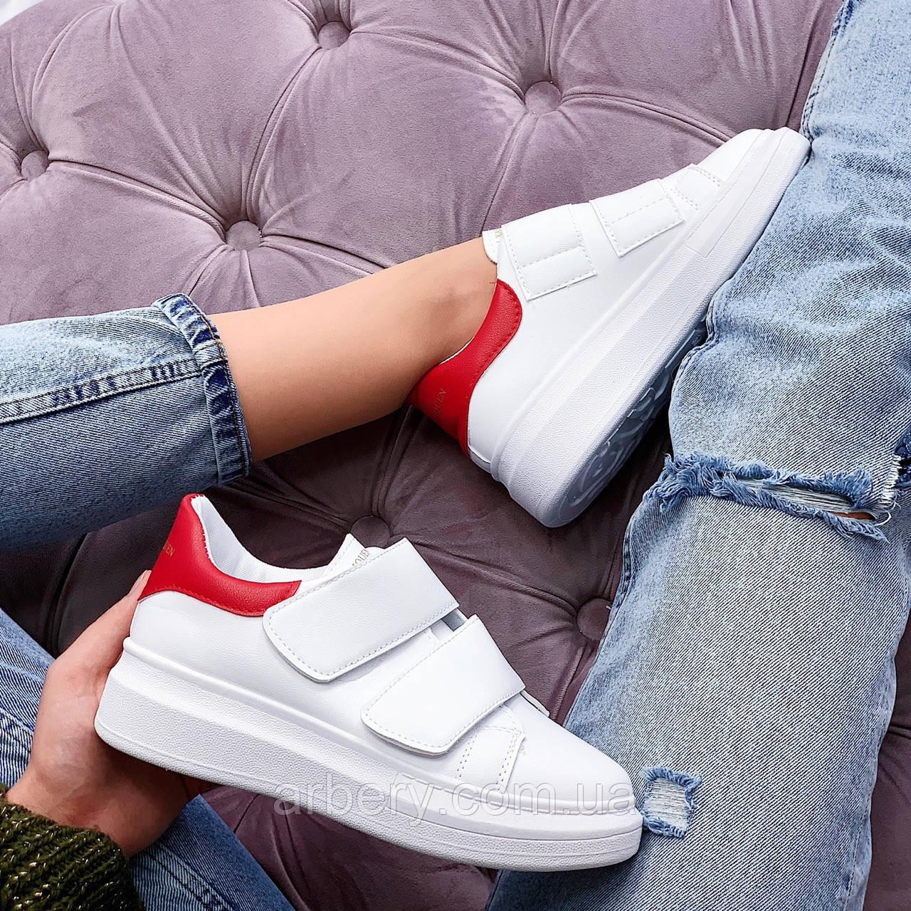 Женски модные кроссовки на липучках