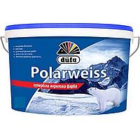 Супербелая акриловая краска Dufa Polarweiss 14кг