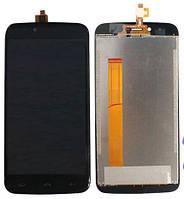 Дисплей (экран) для телефона Homtom HT50 + Touchscreen Black