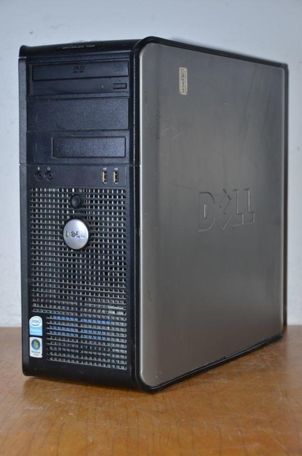 Dell optiplex 755 4 ядра Q6600 2.4 Ггц, 4 ГБ ОЗУ, 80 ГБ HDD