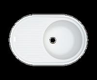 Кухонная мойка (гранит) (разные цвета, сифон в комплекте) BORGIO OVM-770x500