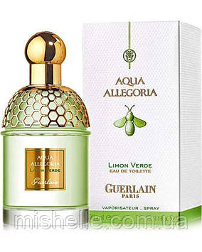 Парфюм унисекс Guerlain Aqua Allegoria Limon Verde (Герлен Аква Аллегория Лимон Верде)