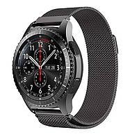 Ремешок Milanese black 22мм для смарт-часов Samsung Gear S3 /Galaxy watch