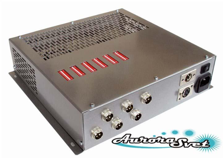 БУС-3-06-200 блок управления светодиодными светильниками, кол-во драйверов - 6, мощность 200W.