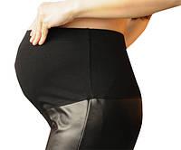 667101 Стильные теплые кожаные лосины черные, фото 1