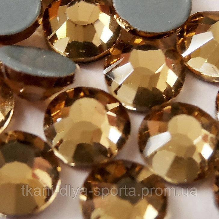 Стразы Pellosa Premium colorado topaz (Корея) термоклеевые SS-16
