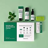 Набор из 4 миниатюр кислотных средств для проблемной кожи SOME BY MI AHA, BHA, PHA 30 Days Miracle Starter Kit, фото 9