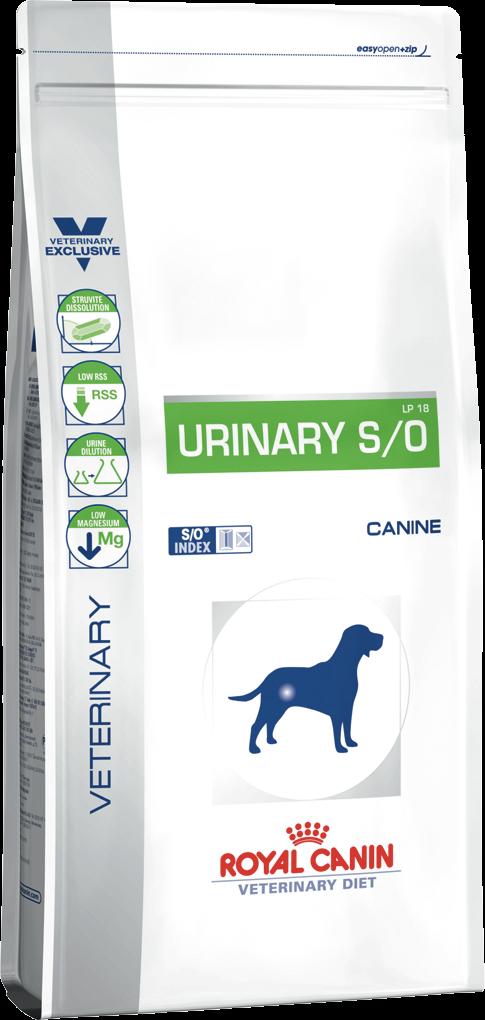 Лечебный корм для собак при мочекаменной болезни Royal Canin URINARY CANINE 2 кг