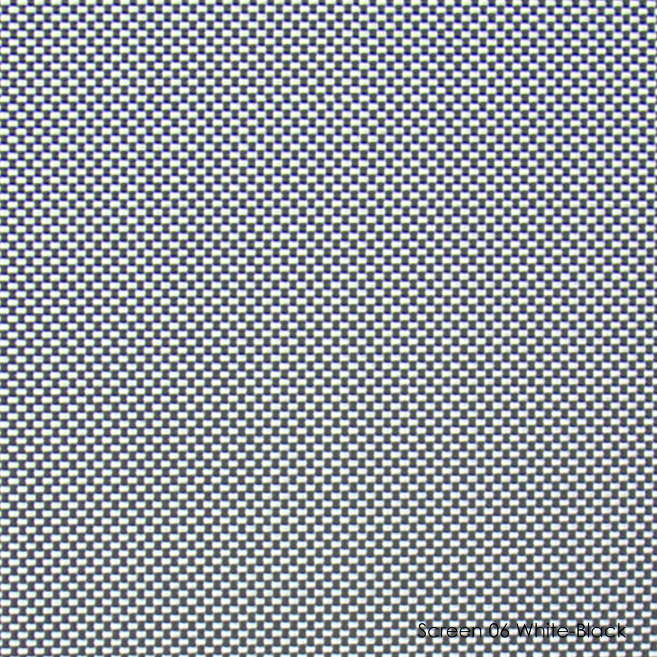 Тканевые роллеты Screen-06 white-black