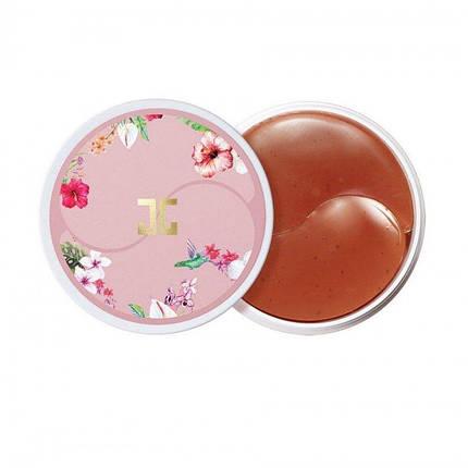 Гидрогелевые патчи с цветами гибискуса Jayjun Roselle Tea Eye Gel Patch, 60 шт, фото 2