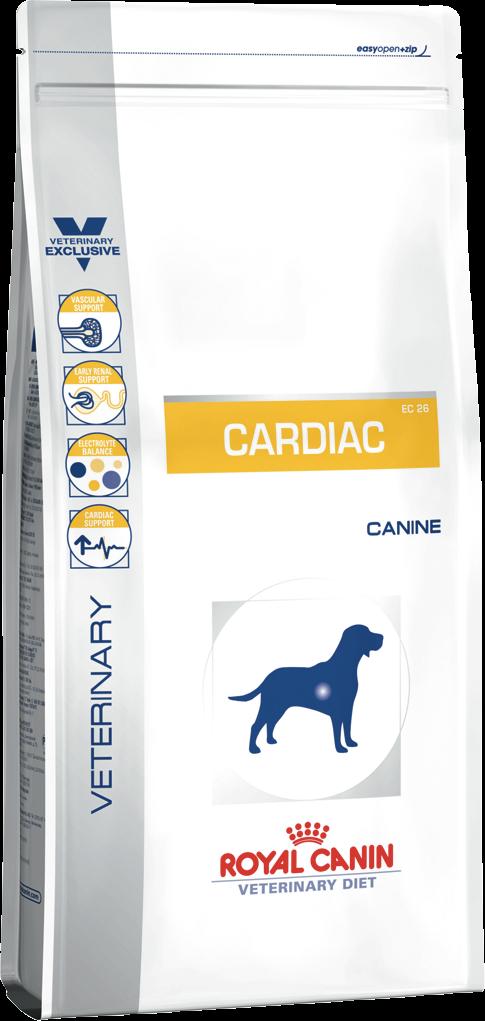 Лечебный корм для собак при сердечной недостаточности Royal Canin CARDIAC CANINE 14 кг