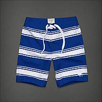 Полосатые шорты Abercrombie&Fitch