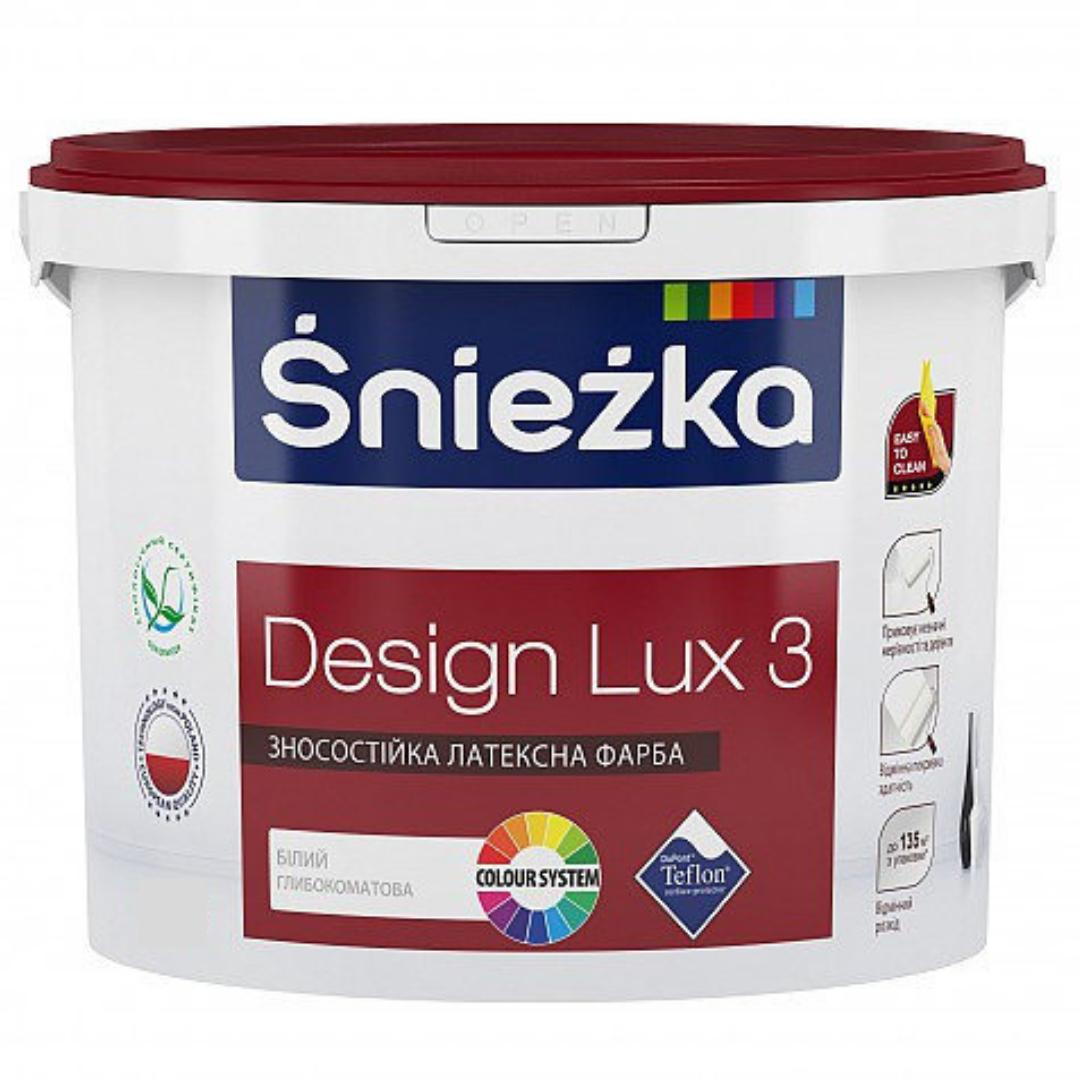 Глубокоматовая краска Sniezka Design Lux 3 13.5кг