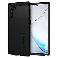 Чохол Spigen для Samsung Galaxy Note 10 Slim Armor, Black (628CS27540)