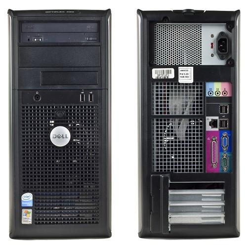 Dell optiplex 320 2 ядра Intel Core 2 Duo E 6550 2.33 ГГц, 2 ГБ ОЗУ, 80 ГБ HDD