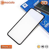 Защитное стекло Mocolo iPhone 11 Pro Anti-Dust (Black) 3D, фото 1
